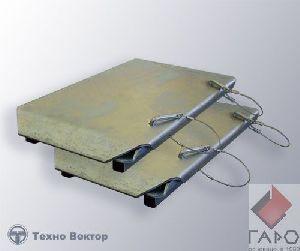Задние сдвижные платформы для сход развала Техновектор 019 00 000