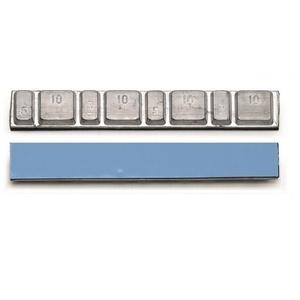 Самоклеющиеся грузики для литых дисков комплект 50 шт. Clipper 0051