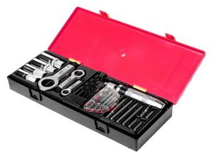 Набор инструментов для демонтажа крепежных элементов с поврежденной резьбой 26 предметов JTC-K8261